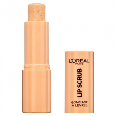 Exfoliant pentru buze L'Oreal Paris Spa Lip Scrub, 03 Peach Twist, 4 g