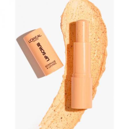 Exfoliant pentru buze L'Oreal Paris Spa Lip Scrub, 03 Peach Twist, 4 g1