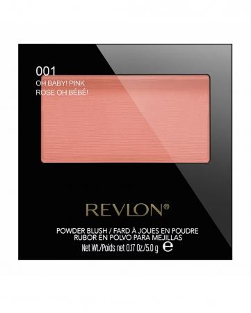 Fard De Obraz Pudra Revlon Powder Blush - 001 Oh Baby! Pink, 5 gr0