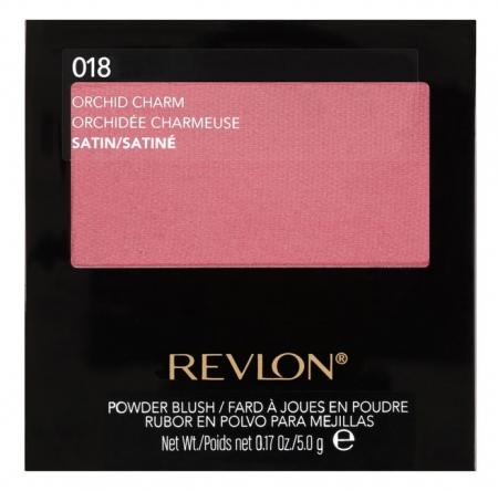 Fard De Obraz Pudra Revlon Powder Blush - 018 Orchid Charm, 5 gr0