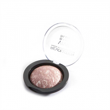 Fard de Obraz Makeup Revolution Baked Blusher - Hard Day, 6g1