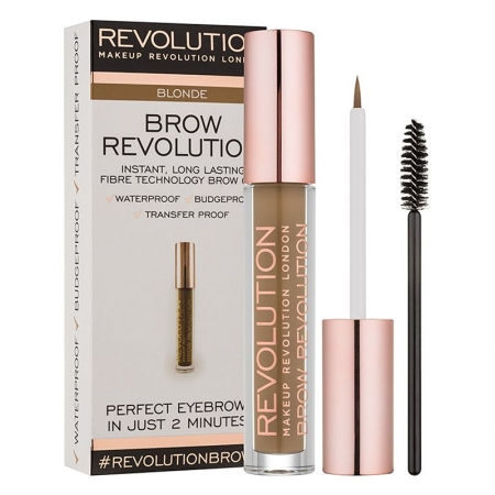 Gel Pentru Definirea Sprancenelor Makeup Revolution Brow Revolution - Blonde, 3.8 gr