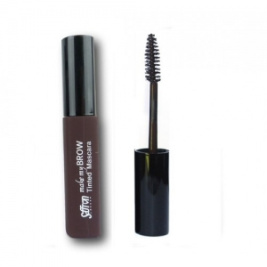 Rimel pentru conturarea sprancenelor Saffron Make My Brow Tinted Mascara - Dark Brown, 8 ml