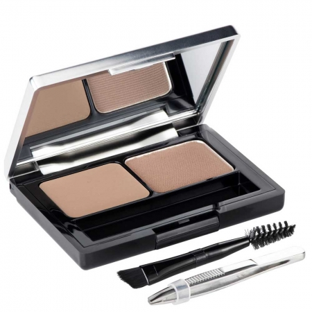 Kit Complet pentru Sprancene L'Oreal Paris Brow Artist Genius Kit, 01 Light To Medium, 3.5 g
