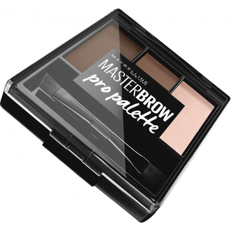 Kit pentru sprancene Maybelline New York Master Brow Pro Pallete - Deep Brown