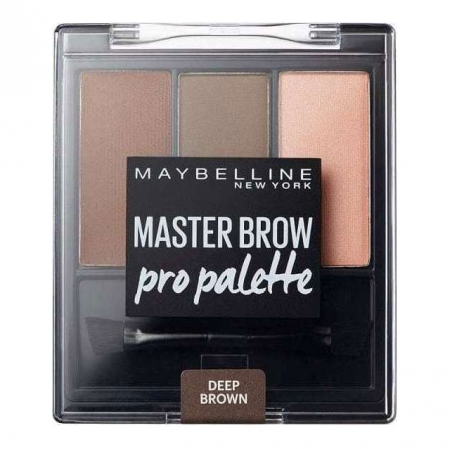 Kit pentru sprancene Maybelline New York Master Brow Pro Pallete - Deep Brown3