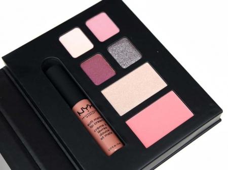 Set Machiaj NYX Professional Lip Eye Face Collection City Gift Set London, Special Edition3