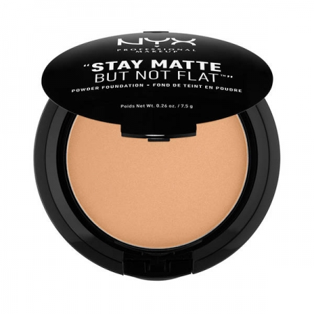 Fond De Ten Pudra Nyx Professional Makeup Stay Matte But Not Flat - Olive, 7.5 gr
