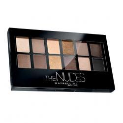 Paleta Farduri de Pleoape Maybelline NY The Nudes Eyeshadow Palette, 9.6g