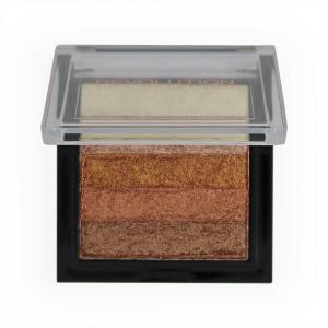 Paleta Iluminatoare Bronzanta MAKEUP REVOLUTION Shimmer Brick, Rose Gold1