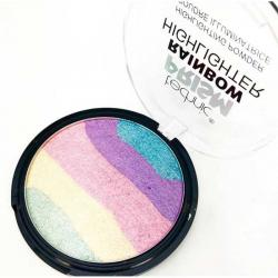 Paleta Iluminatoare Multicolora TECHNIC Prism Rainbow Highlighter Powder, 6g1