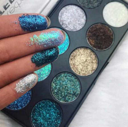 Paleta Technic Glitter Palette, Mermaid, 10 x 2.5g2