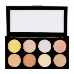 Paleta cu 8 Iluminatoare Pudra MAKEUP REVOLUTION Ultra Strobe and Light Palette, 12g