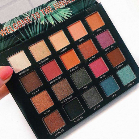 Paleta de farduri Technic BE FEARLESS Limited Edition, 20 Nuante1