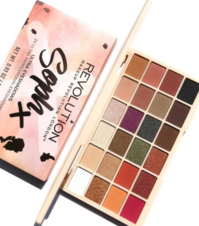 Paleta de farduri Makeup Revolution Soph X Eyeshadow Palette, 24 Nuante7