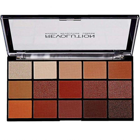 Paleta de farduri Makeup Revolution - Re-Loaded Palette - Iconic Fever, 15 Nuante