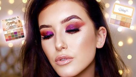 Paleta de farduri Makeup Revolution Soph X Eyeshadow Palette, 24 Nuante10