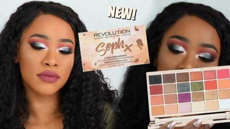 Paleta de farduri Makeup Revolution Soph X Eyeshadow Palette, 24 Nuante8