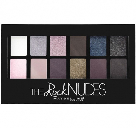 Paleta de farduri Maybelline New York The Rock Nudes, 12 Nuante, 9.6 g4