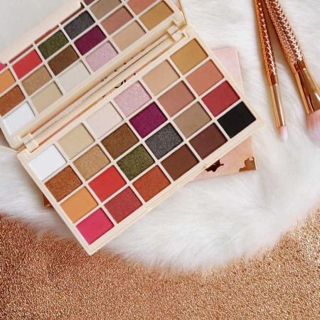 Paleta de farduri Makeup Revolution Soph X Eyeshadow Palette, 24 Nuante3
