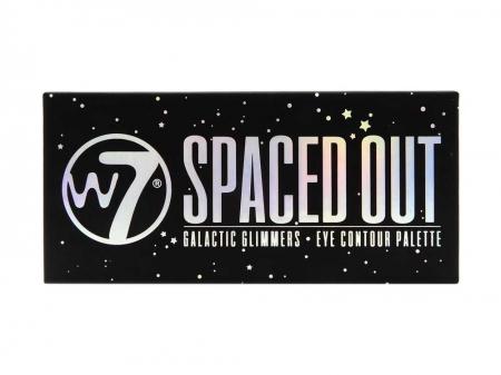 Paleta farduri W7 Spaced Out Galactic Glimmers Eye Contour Palette, 12 culori, 9.6g2