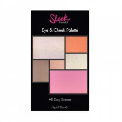 Paleta pentru machiaj SLEEK MakeUP Eye & Cheek Palette - 030 All Day Soiree, 9g1