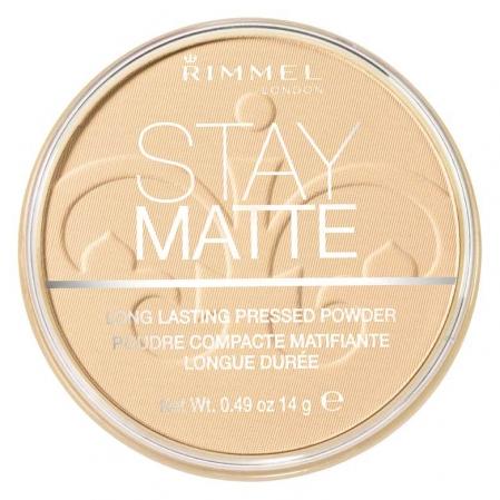 Pudra matifianta rezistenta la transfer RIMMEL Stay Matte, 011 Creamy Natural, 14g