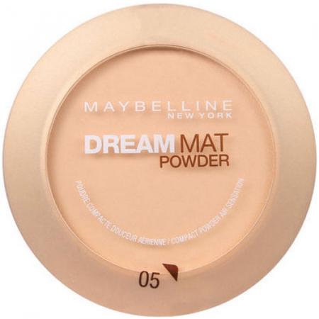 Pudra compacta MAYBELLINE Dream Mat Powder, 05 Apricot Beige, 9 g