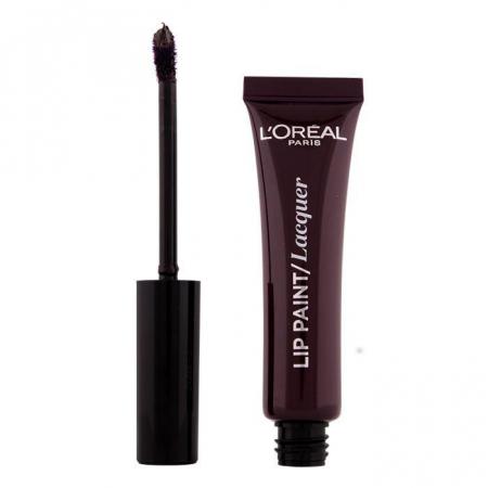 Ruj Lichid L'oreal Infallible Lip Paint Lacquer - 107 Dark river, 8 ml1
