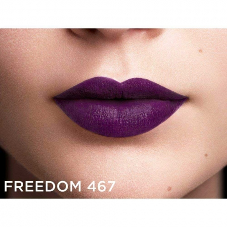 Ruj mat L'Oreal Paris Color Riche Lipstick Balmain Couture, 467 Freedom, 3.9g4