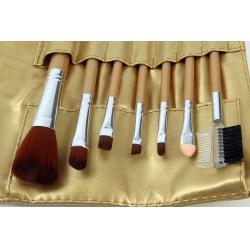 Set 7 Pensule Profesionale Luxury pentru Machiaj - Gold Flakes1