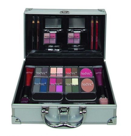 Valiza completa pentru Machiaj Technic Colour Collection Case 997241