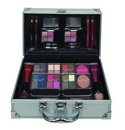 Valiza completa pentru Machiaj Technic Colour Collection Case 9972410