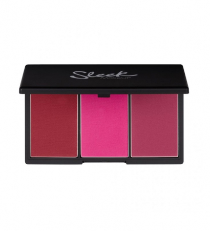 Paleta Sleek MakeUP Blush by 3 Palette, Pink Sprint 20g