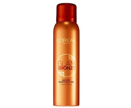 Spray Autobronzant pentru ten si corp L'Oreal Glam Bronze Tinted Mist Spray, 150 ml