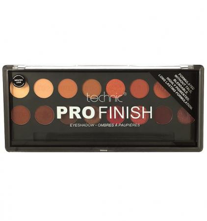 Paleta Profesionala de Farduri Technic PRO Finish Eyeshadow, Molten Lava0