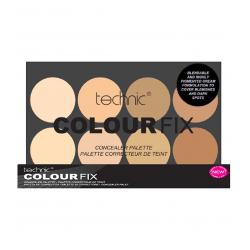 Trusa Profesionala Anti-Cearcane Cu 8 Corectoare Cremoase TECHNIC Colour Fix Light, 8x3.5g