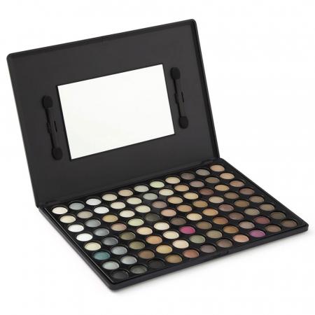 Trusa Profesionala de Farduri cu 88 Culori LAROC Eyeshadow, P02 Natural0