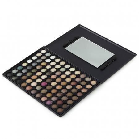 Trusa Profesionala de Farduri cu 88 Culori LAROC Eyeshadow, P02 Natural1