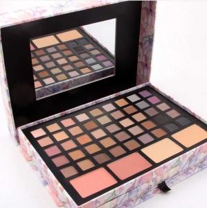Trusa Profesionala pentru Machiaj Miss Rose Deluxe Shimmer & Matte, 85 culori, Imperial Flowers3