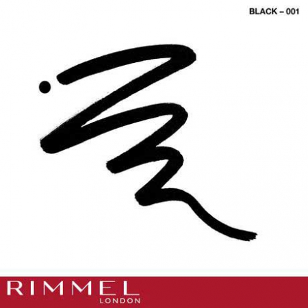 Tus de ochi lichid Rimmel London ScandalEyes Bold Waterproof, Black, 2.5 ml3