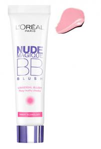 Fard de obraz iluminator L'OREAL Nude Magique BB Blush - Universal Rosy, 15ml