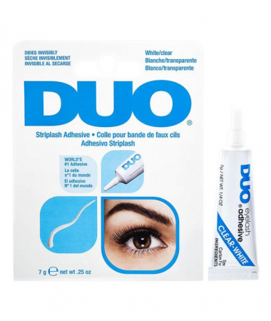 Adeziv Profesional DUO pentru Gene False de Tip Banda, White, 9 g