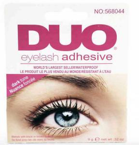 Adeziv Profesional Gene False DUO Eyelash Waterproof - Dark Tone