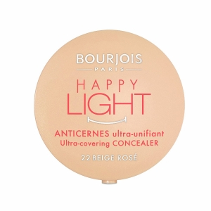 Corector anticearcane BOURJOIS Happy Light Ultra-Covering - 22 Beige Rose, 2.5g