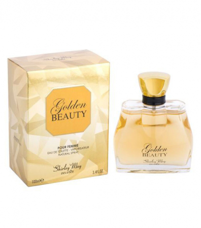 Apa de Toaleta Shirley May Deluxe, Golden Beauty, dama, EDT, 100 ml