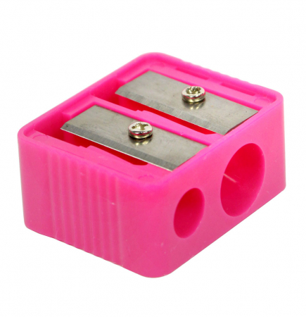 Ascutitoare dubla creioane machiaj ROYAL Cosmetic Duo Pencil Sharpener