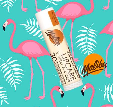 Balsam De Buze Protector Malibu Lipcare, UVA/UVB, SPF 30, Vanilla, 4 g1