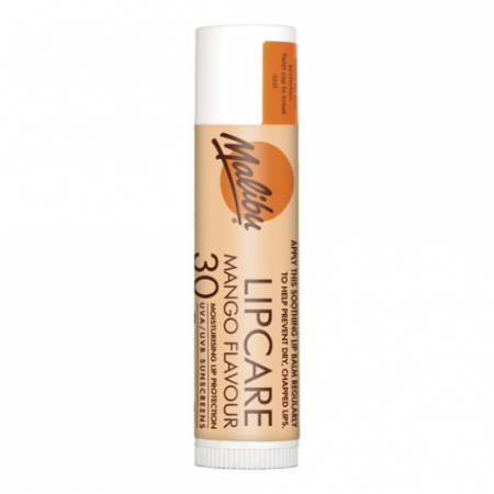Balsam De Buze Protector Malibu Lipcare cu Mango, UVA/UVB, SPF 30, 4 g