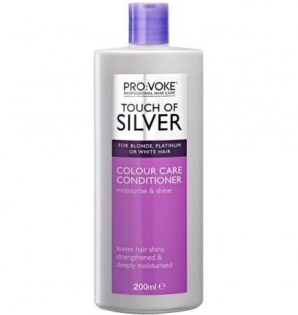 Balsam profesional nuantator, culoare argintiu, PRO:VOKE Professional Touch of Silver Colour, 200 ml